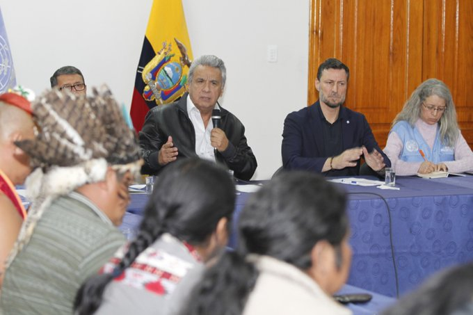 Terminan protestas en Ecuador; Lenín Moreno acepta derogar decreto 883