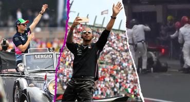 El triunfo de Hamilton, el carrerón de Checo y los errores en Pits: Lo que dejó el Gran Premio de México