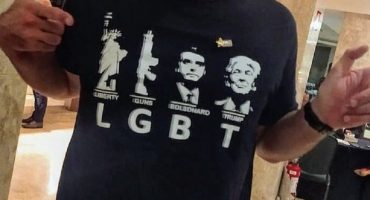 """""""El concepto fue actualizado con éxito"""": Hijo de Bolsonaro presume playera que hace burla de comunidad LGBT"""