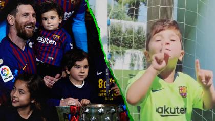 Messi sobre la fama de su hijo Mateo: