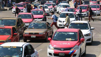 Estas son las vías alternas para la marcha de taxistas del próximo lunes en la CDMX