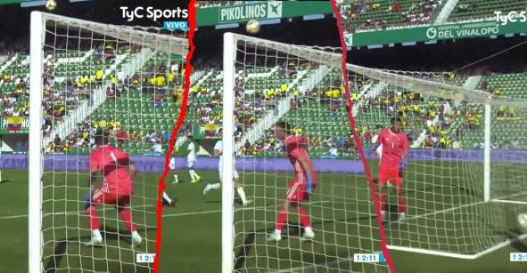 ¿Y las manos? El gol que regaló Marchesín en el repasón de Argentina 6-1 a Ecuador