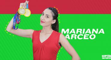 Mariana Arceo va por el Premio Nacional del Deporte tras doble medalla histórica