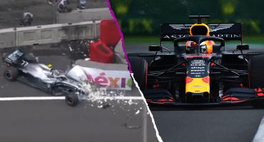 La pole position de Max Verstappen y el susto de Bottas en la calificación del Gran Premio de México