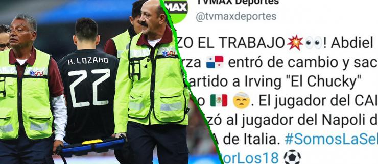 Medio panameño celebró la lesión del 'Chucky' y Felipe Baloy los puso en su lugar