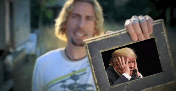 Cuando eres Donald Trump y te borran un meme por derechos de autor