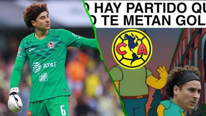 ¡Cruz Azul y también los memes le metieron una goleada a Ochoa y al América!