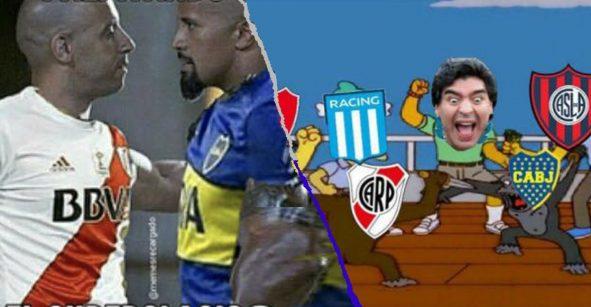 Boca se llevó la copa de memes libertadores tras ser eliminado por River Plate