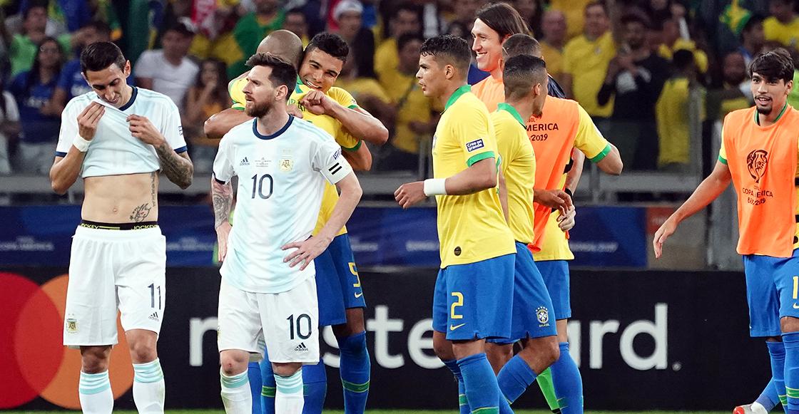"""Di María reveló el discurso de Messi tras eliminación en Copa América: """"Todos terminaron llorando"""""""