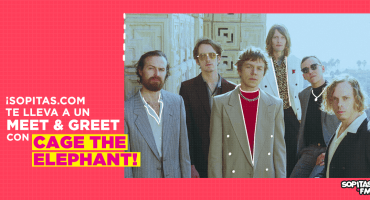 ¡Sopitas.com te lleva a un exclusivo M&G con Cage The Elephant!
