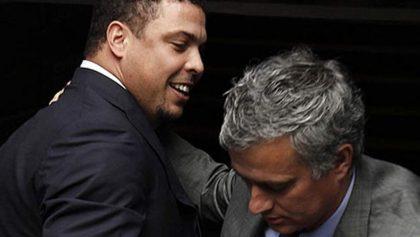 """Mourinho pone a Ronaldo el 'Fenómeno' por encima de Messi y Cristiano: """"Es el mejor"""""""