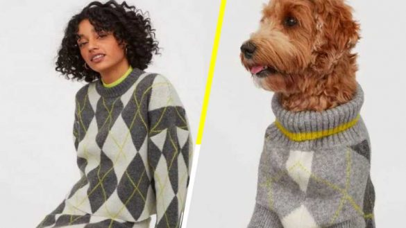 H&M lanza una colección de ropa para que tú y tu perro se vistan igual