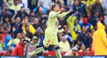 Nico Castillo regresa al América con gol 55 segundos después de haber ingresado