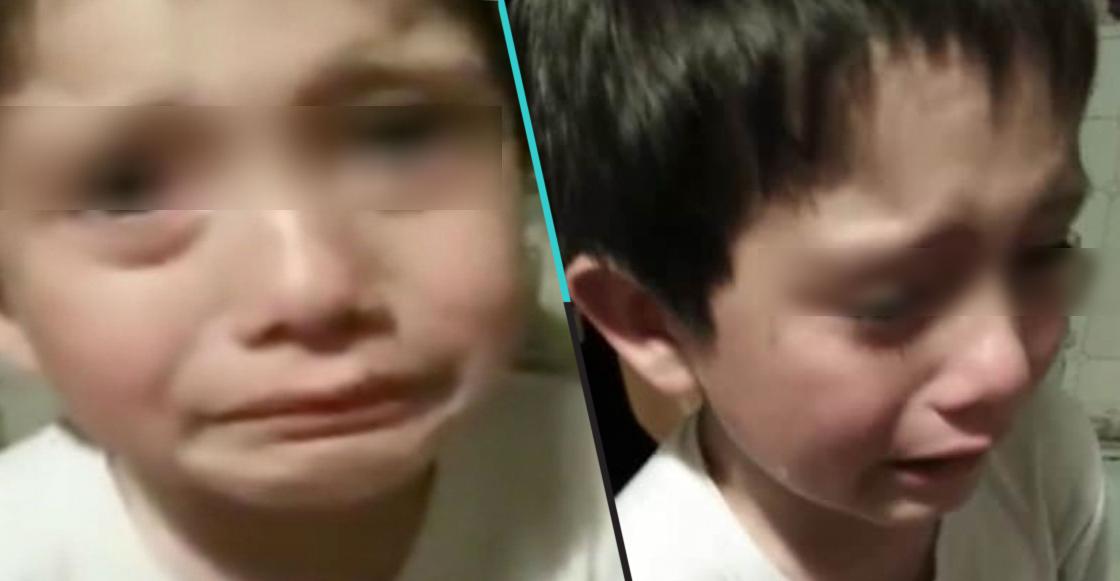 Ternura nivel: Niño mata a una hormiga por accidente y se pone a llorar