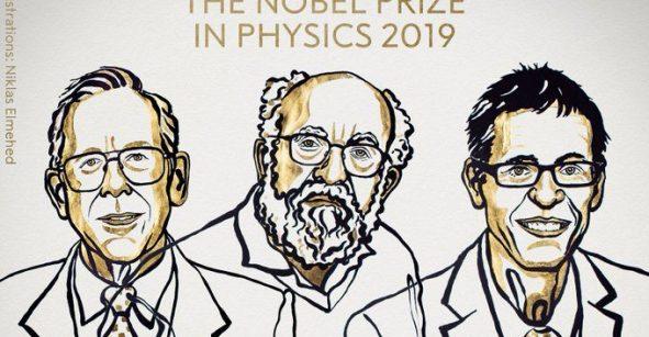 Nobel de Física 2019 para teóricos en cosmología física y para descubridores de exoplaneta