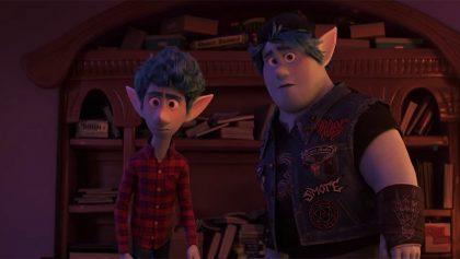 Pixar liberó el primer tráiler de 'Onward' con Tom Holland y Chris Pratt