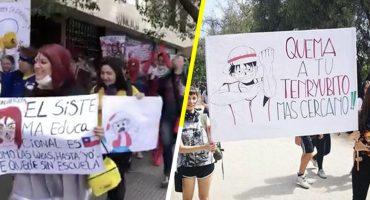 ¡Joya! Otakus de Chile salen a manifestarse vestidos de sus personajes favoritos