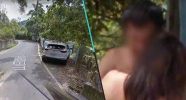 Con las manos en la masa: Pareja es captada por Google Maps haciendo 'el delicioso' en la carretera
