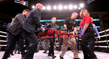 Boxeador Patrick Day, en coma tras KO en Chicago; su vida corre peligro