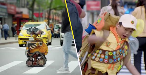 Los personajes de Pixar cobran vida en una serie live-action para Disney+