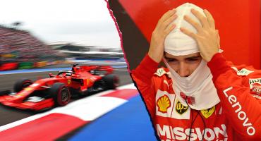 Vettel, el más rápido en las prácticas libres; Leclerc pagó novatada en el Gran Premio de México
