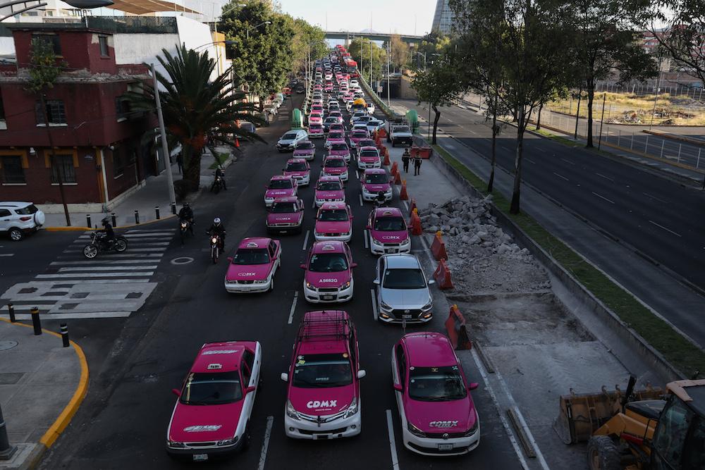 Protesta-taxistas-cdmx-uber