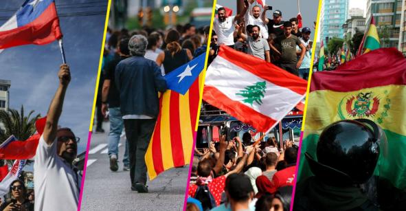 Guía rápida: Estas son todas las protestas alrededor del mundo y su razones