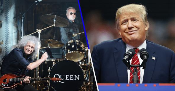 Queen le tira un video a Donald Trump por utilizar