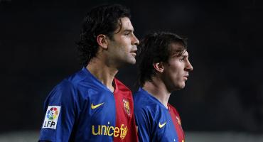 Rafa Márquez recordó el día en que discutió con Messi en el Barcelona