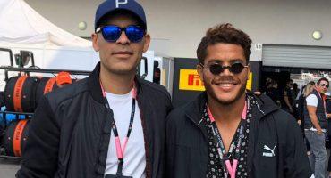 Rafa Márquez se declaró fanático de la Fórmula 1 y de 'Checo' Pérez en el Gran Premio de México