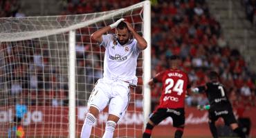 El Madrid se desploma contra el Mallorca y le regala el liderato al Barcelona