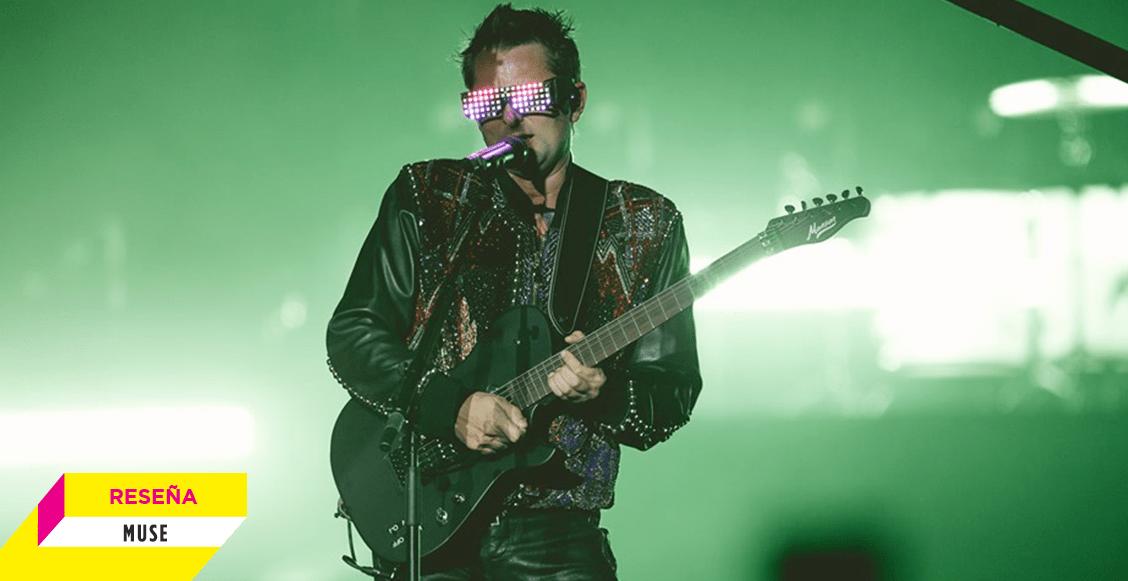 Una noche épica y futurista: Así fue el concierto de Muse en el Foro Sol