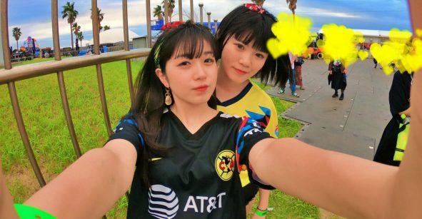Japonesas cantaron el himno del América e internet enloqueció