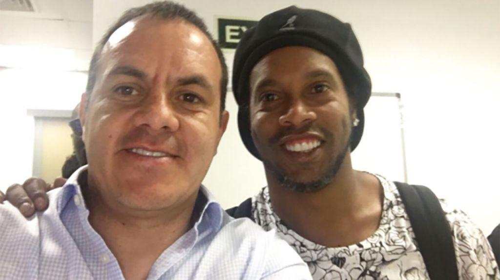 Ronaldinho jugará partido amistoso contra Cuauhtémoc Blanco y sus amigos