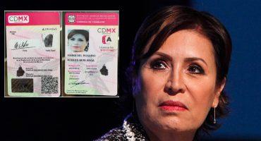 Ohh que la: SEMOVI rechaza haber dicho que licencia de Rosario Robles era auténtica