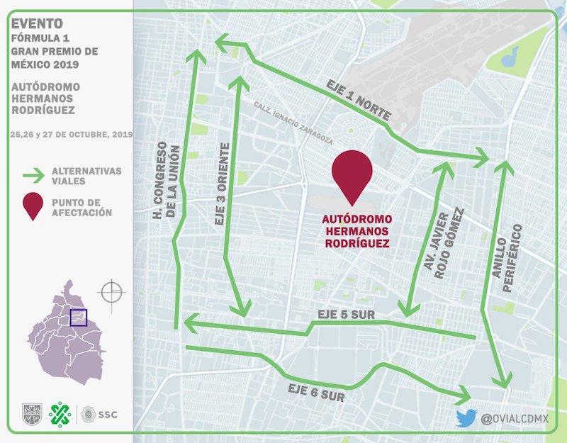 rutas-viales-mega-procesion-catrinas-calles-cerradas-sabado-desfile-formula-1