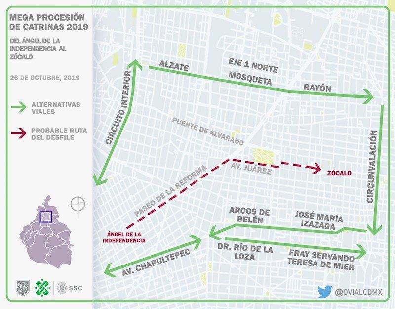 rutas-viales-mega-procesion-catrinas-calles-cerradas-sabado-desfile