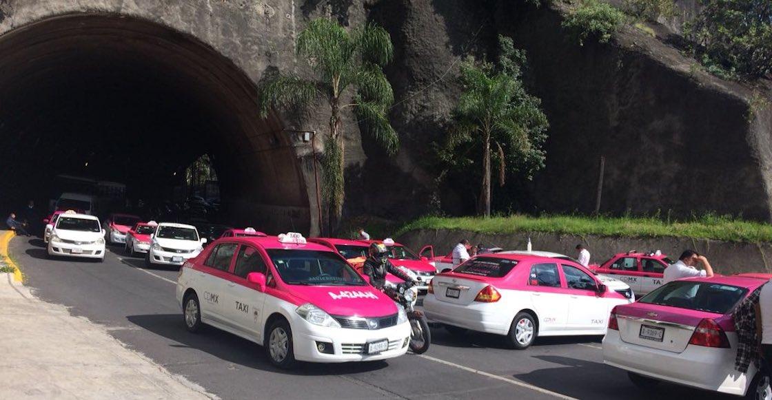 santa-fe-marcha-taxistas-fotos-caos-trafico-destacada