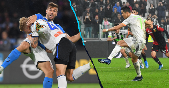 Senado de Italia debatirá penales a favor de la Juventus y los que ignoran al Napoli