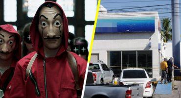 Como en 'La Casa de Papel': Hacen boquete y se llevan 2.5 millones de pesos de un banco en Sinaloa