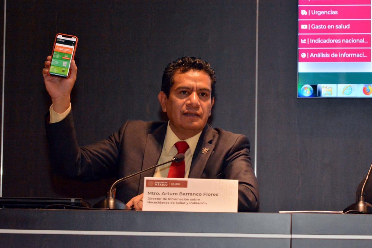 Presentan plataforma de consulta de información sobre el sector salud en México