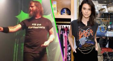 Están llorando sangre: Slayer niega que tengan una fortuna vendiendo camisetas gracias a las Kardashian