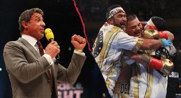 Sylvester Stallone lanzará documental sobre el triunfo de Andy Ruiz ante Anthony Joshua