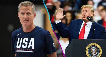 Steve Kerr explota contra Donald Trump y pide que ya termine su mandato