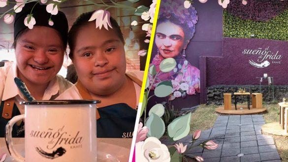 """""""El sueño de Frida"""", la cafetería de la CDMX que es atendida por jóvenes con Síndrome de Down"""