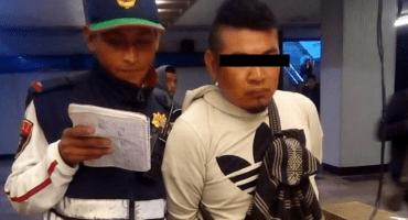 Detienen a sujeto por eyacular sobre usuarias del Metro en la estación Normal
