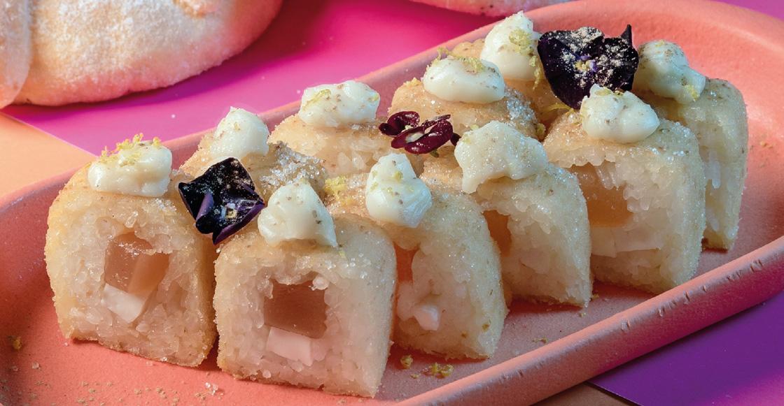 Jugando a ser Dios nivel: Ya hay sushi de pan de muerto y no sabemos qué pensar 😐