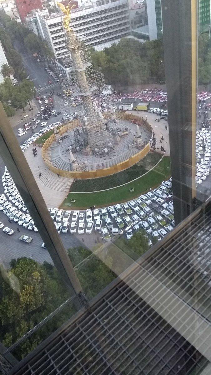 taxistas-manifestación-cdmx-reforma