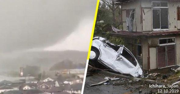 Fotos y videos para dimensionar el daño de Hagibis, el tifón