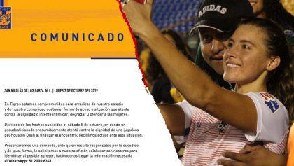 Las severas acciones de Tigres contra el aficionado que le tocó los senos a una futbolista